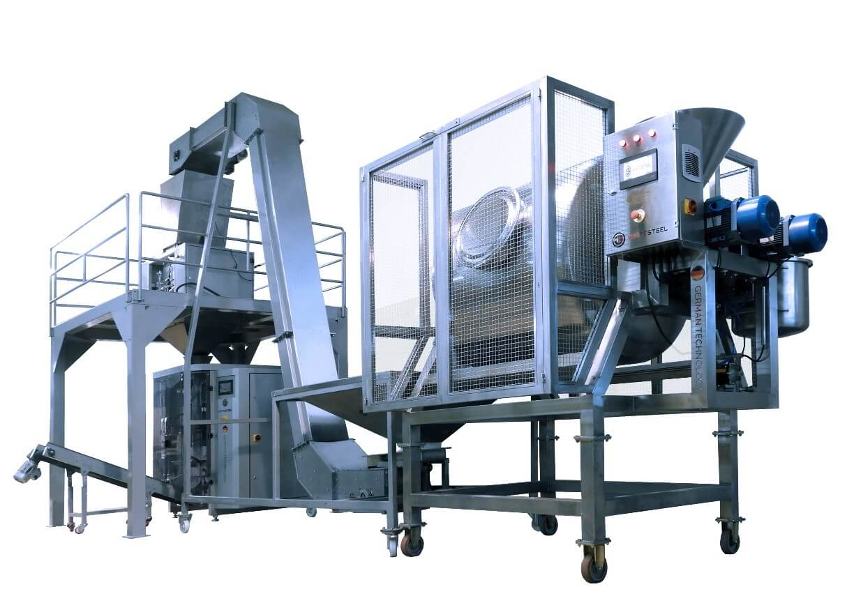 DETERGENTS PRODUCTION LINE WITH BAG PACKAGING MACHINE PR6