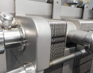 Pasteurisierplatten Wärmetauscher Maschine FM7