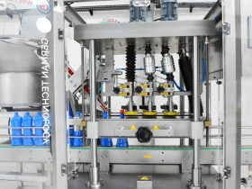 Soap filling capping labeling machine PF16