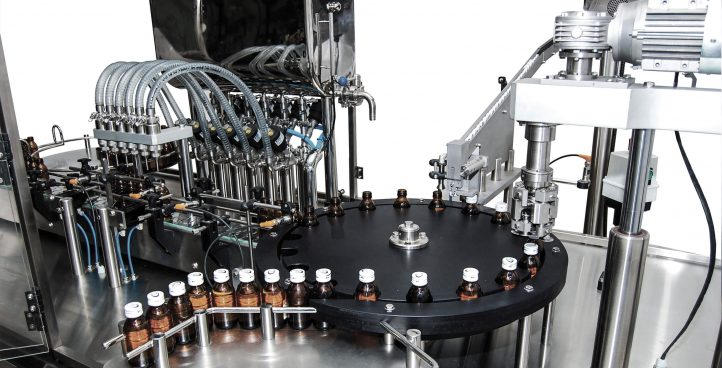 SYRUP FILLING, CAPPING MONO-BLOCK GMP (6 HEADS) PF9